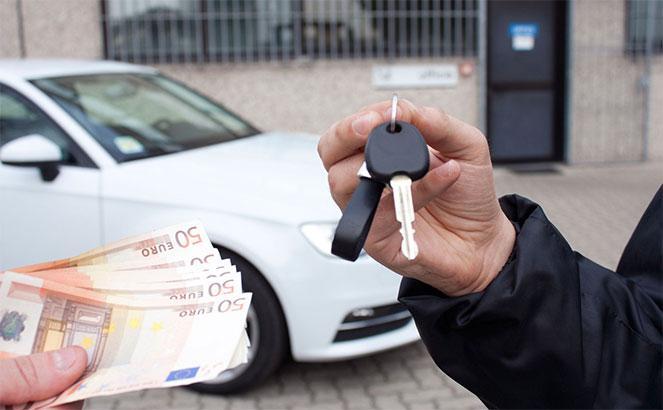 Успешная продажа транспортного средства