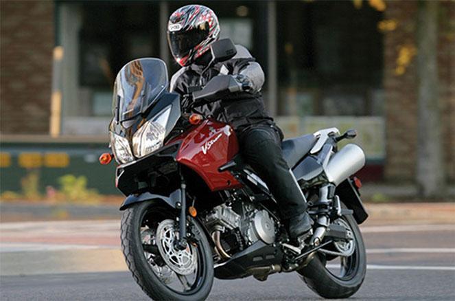 На мотоцикле без прав