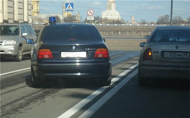 Обгон автомобиля