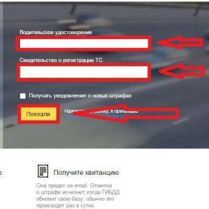 Как сделать проверку штрафов ГИБДД по номеру автомобиля
