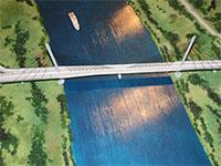 Мост в Дубне