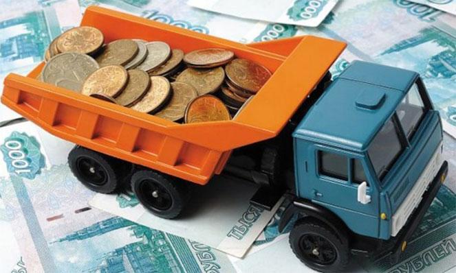Транспортный налог на грузовой автомобиль, плата за лошадиные силы в  2019  году