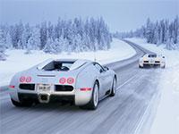 Езда на автомобиле зимой
