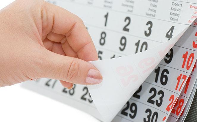 Определяем сроки сдачи декларации