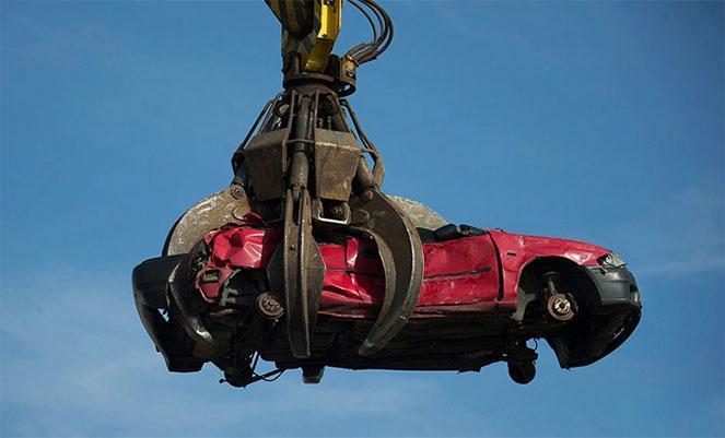 Снятие с учета ГИБДД автомобиля в связи с утилизацией в  2019  году
