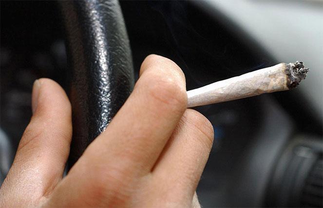 Употребление наркотических веществ за рулем