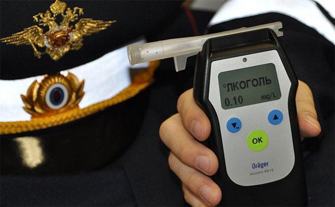 Устройство для определения уровня алкоголя в крови