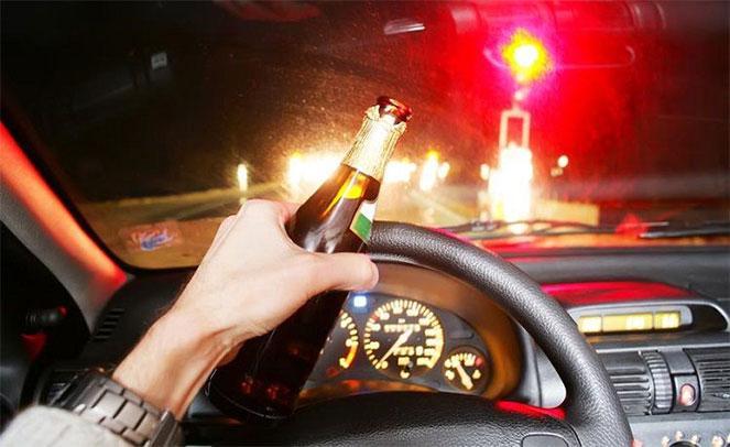 Пьяный за рулём автомобиля, какое наказание в  2018  году