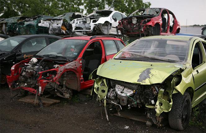 Побитые авто