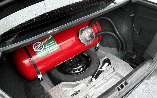 Машина на газу