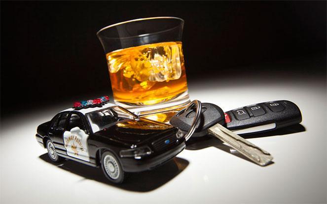 Алкогольное опьянение за рулем