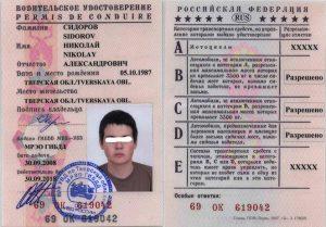 Национальное водительское удостоверение в 2019 году