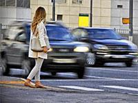 Правительство увеличивает штрафы за не-пропуск пешехода до 2,5 тыс. руб.