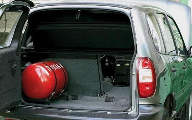 Балон в машине