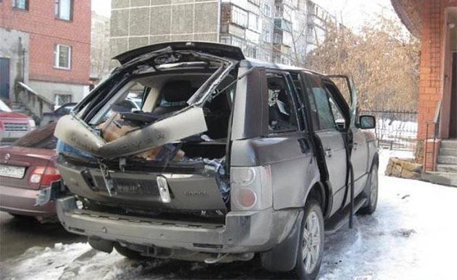 Взрыв газового балона в машине, почему это происходит
