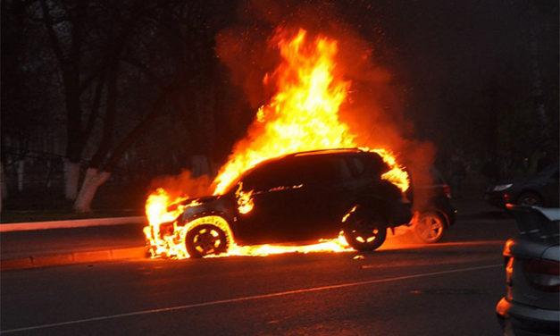 Что грозит поджигателю автомобилей