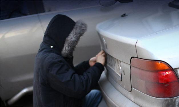 Как действовать, если у вашей машины украли номера