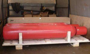 Перевозка газовых баллонов в кузове Газели