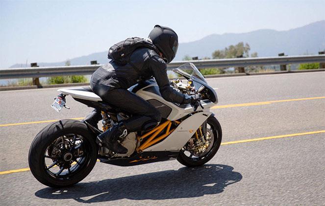 Застрахованный мотоцикл
