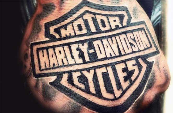 Тату Harley-Davidson