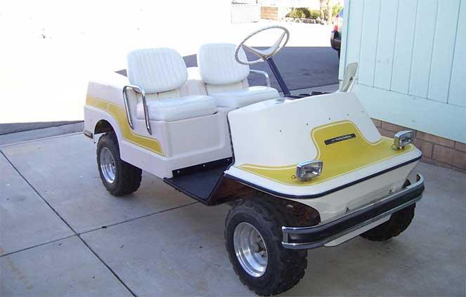 Машина для полей гольфа