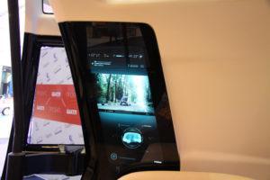 Интерактивное зеркало заднего вида в НАМИ Шатл. Автобус будущего