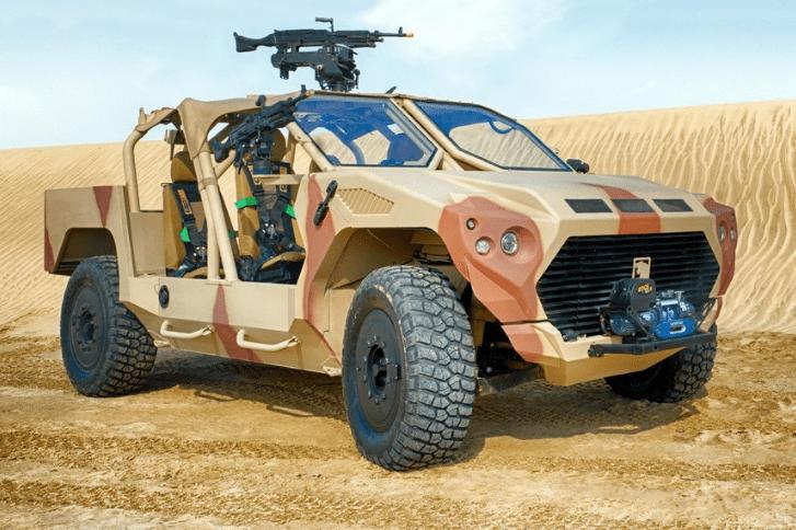 В Эмиратах создали военный броневик на базе Maserati