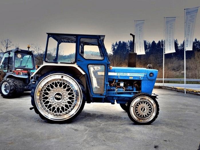 Трактор для серьезных людей