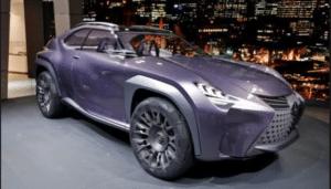 Новая серия автомобилей Lexus UX засветилась на публике