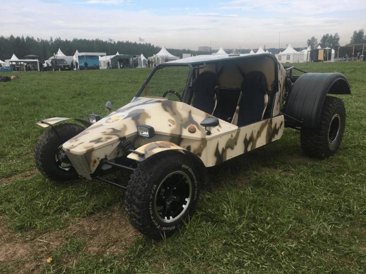 АВТОВАЗ показал новый ударно-разведывательный военный автомобиль – УРА