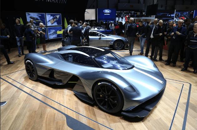 Автомобили компании Aston Martin будут проводить 3D-сканирование будущих владельцев