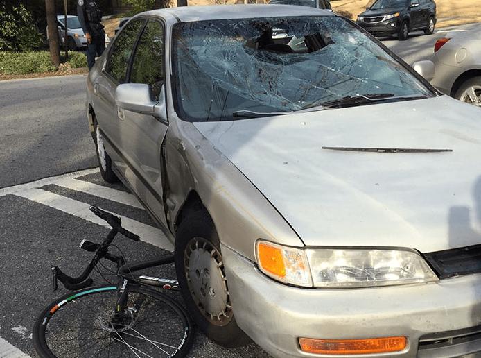 Столкновение с авто