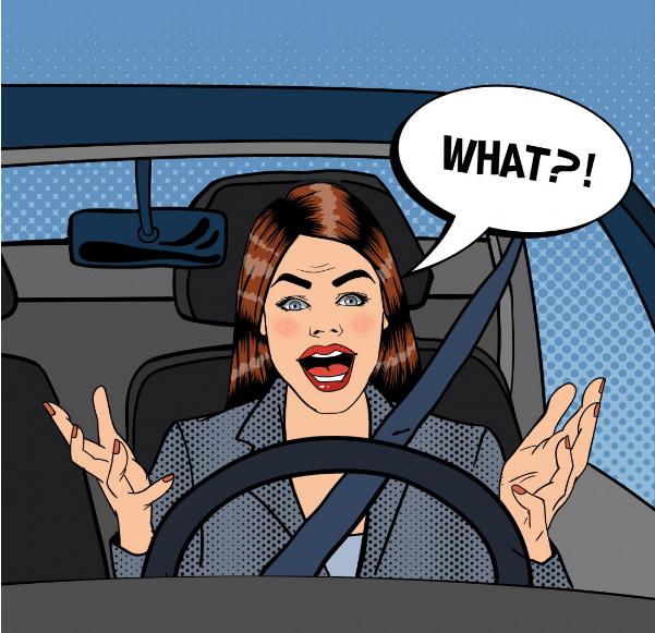 За рулем автомобиля