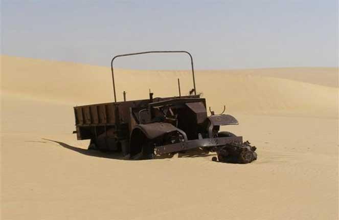Найденный грузовик