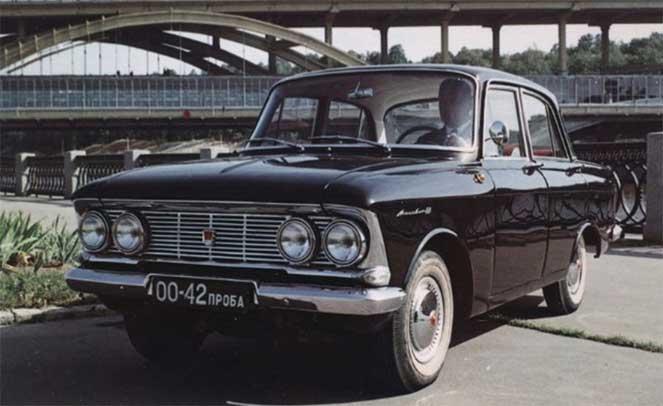 Экспортный «Москвич-408» 1964-1969