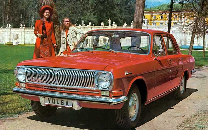 ГАЗ-24 «Волга» первой серии 1970-1974