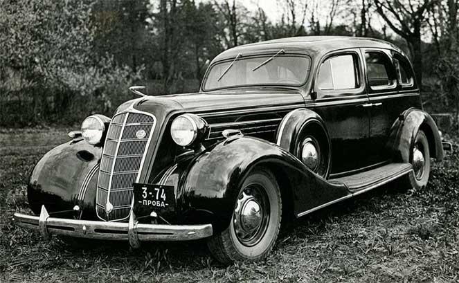 ЗИС-101 1936-1939