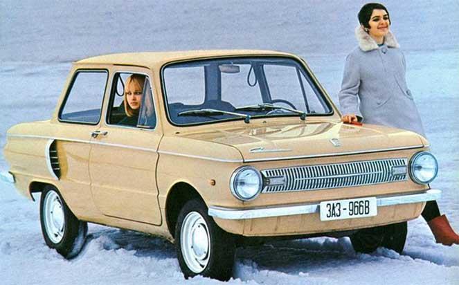 ЗАЗ-966Э Eliette 1967–71 - экспортный «Запорожец»