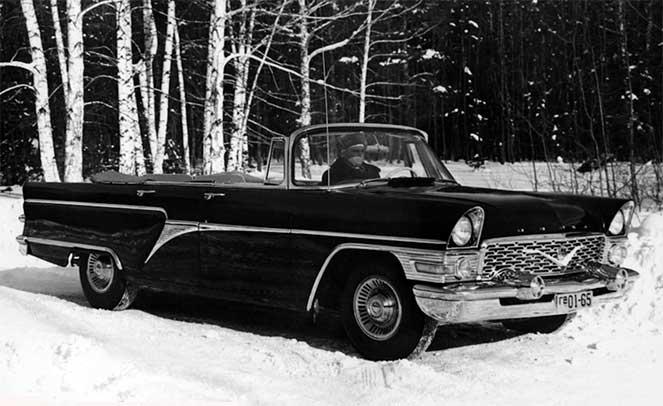 ГАЗ-13Б 1961-1962 - «Чайка»