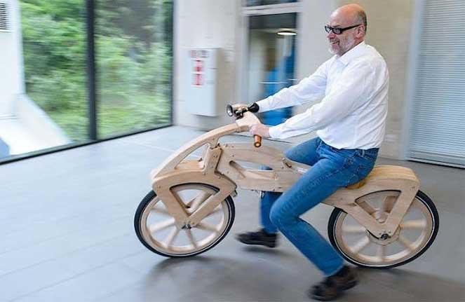 Электрический велосипед: сам знает, когда вас нужно везти