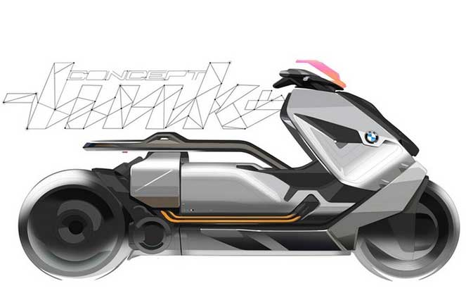 BMW представил прототип электробайка – Concept Link