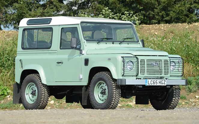 Мистер Бин продает свой Land Rover