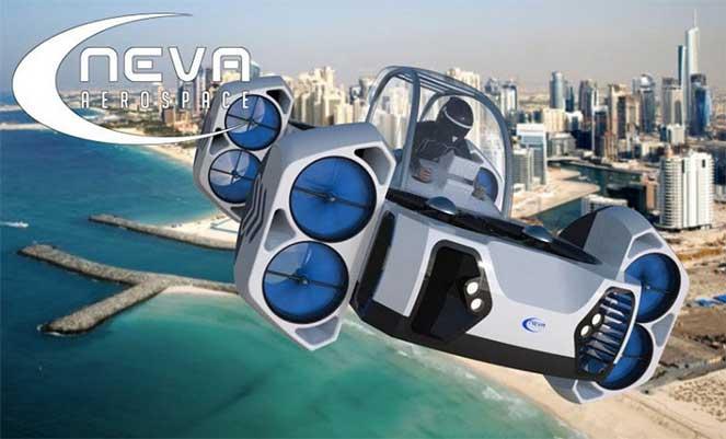 Neva Aerospace представила концепт летающего квадроцикла