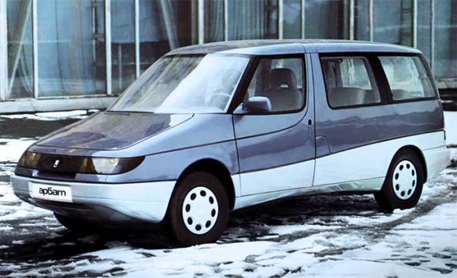 Москвич из 80-х