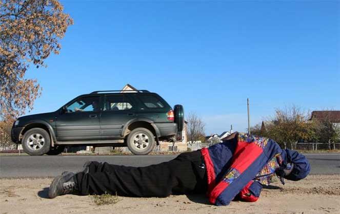 Манекен, которого выдают за жертву ДТП – новый способ «разводить» водителей