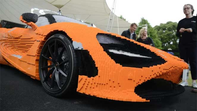 McLaren 720S из Lego
