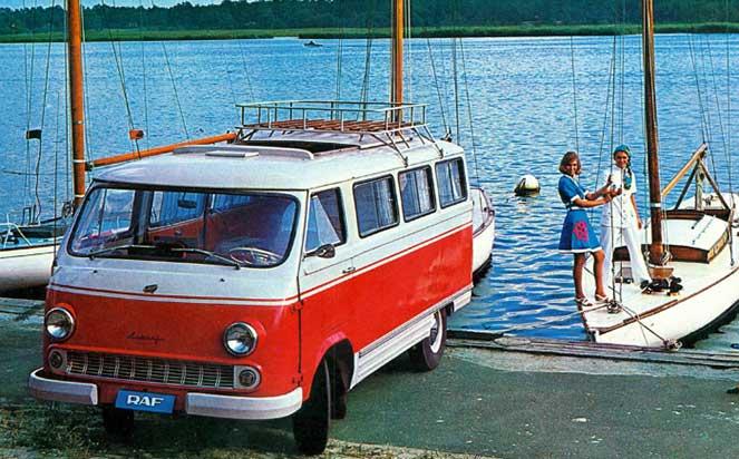 15 малоизвестных модификаций советского микроавтобуса РАФ