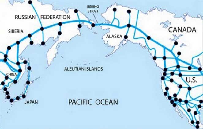 Дорога от Китая до США