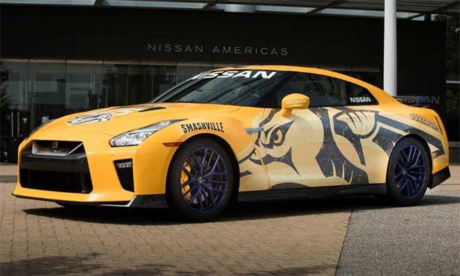 Nissan пожертвовал на благотворительность уникальный GT-R Predzilla