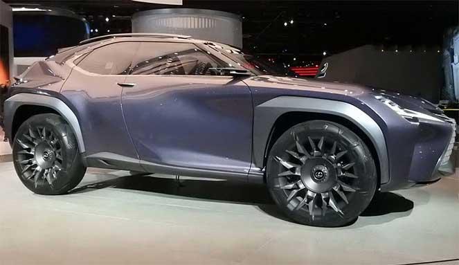 Новый Lexus